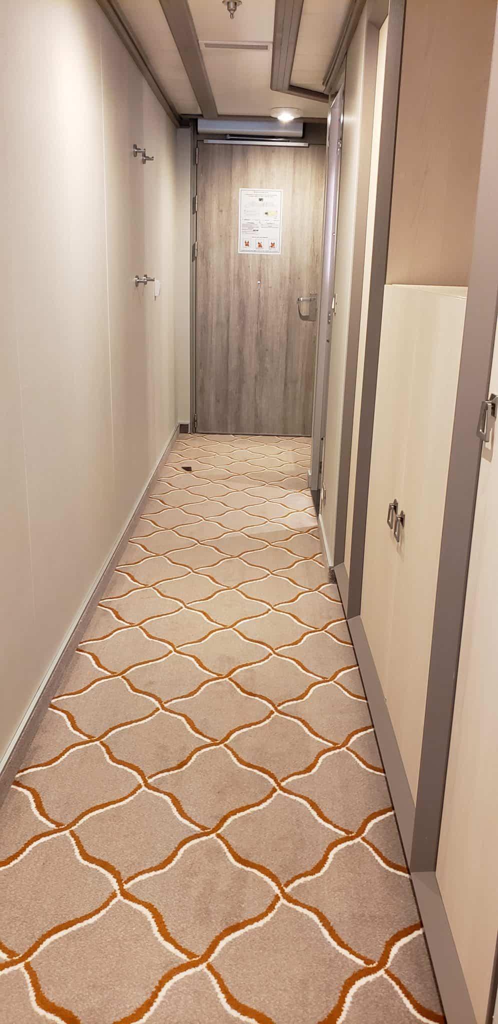 silver moon accessible suite hallway