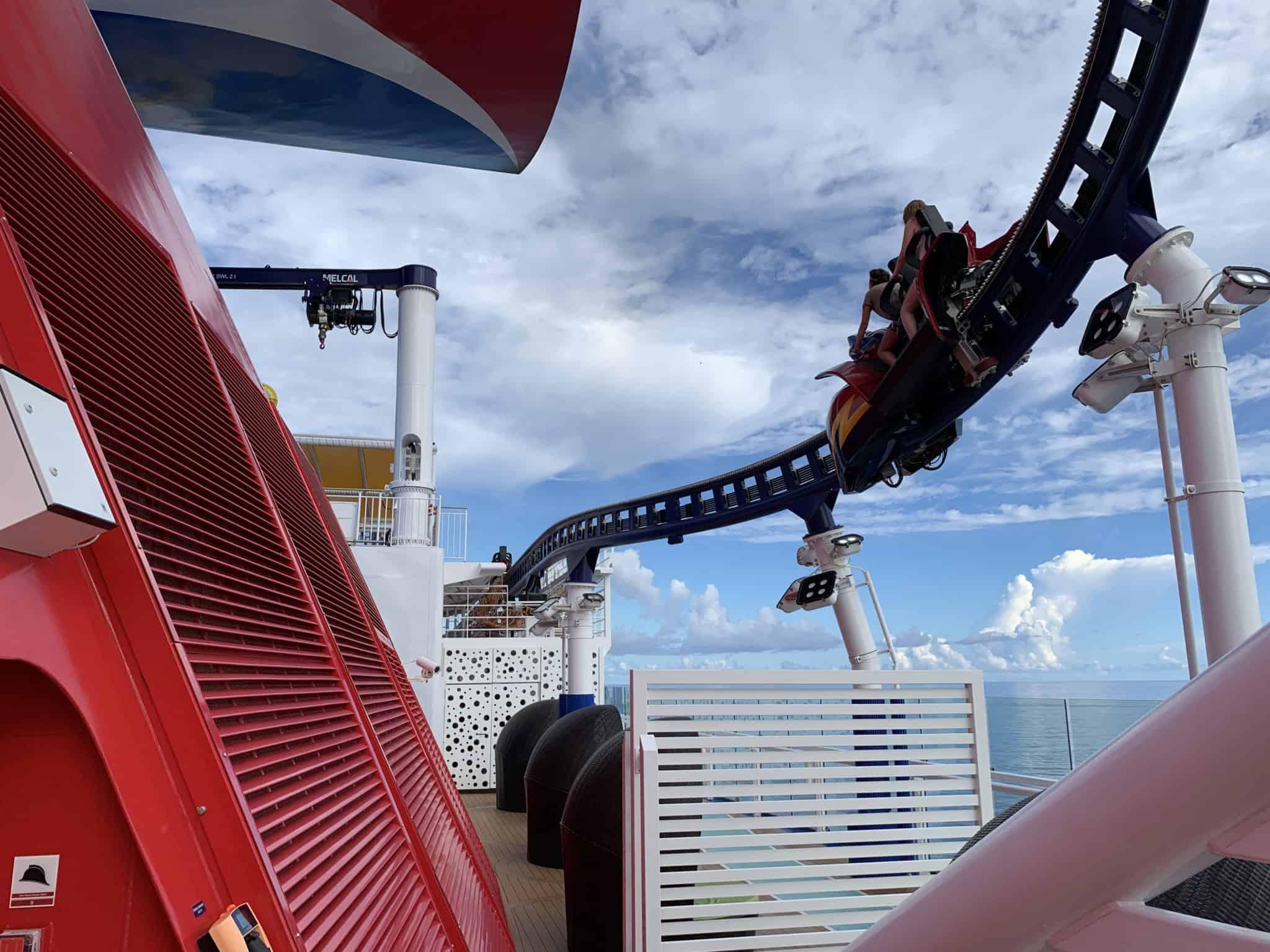 mardi gras roller coaster