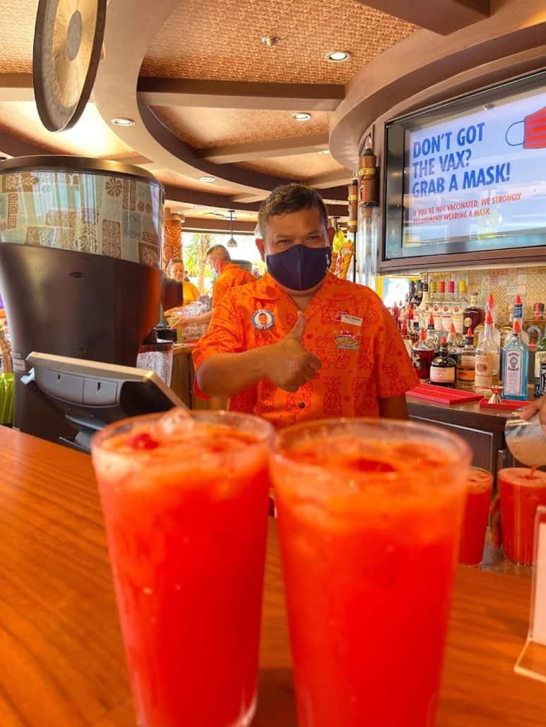 Mardi Gras Maiden Voyage Red Frog Tiki Bar drinks