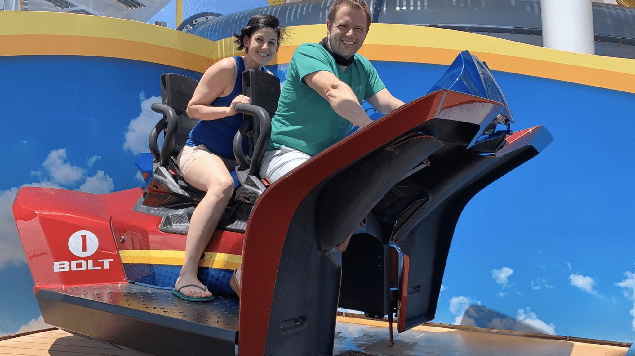 bolt mardi gras roller coaster
