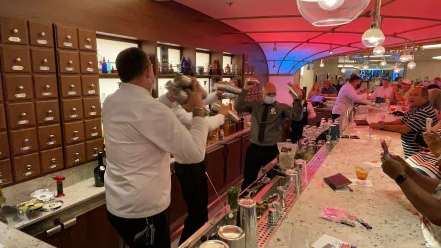 Mardi Gras Maiden Voyage alchemy bar mixologists