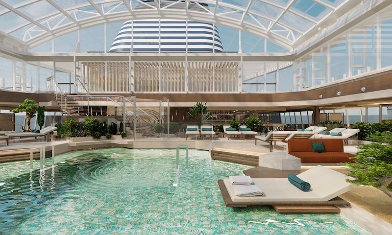 explora journeys indoor pool