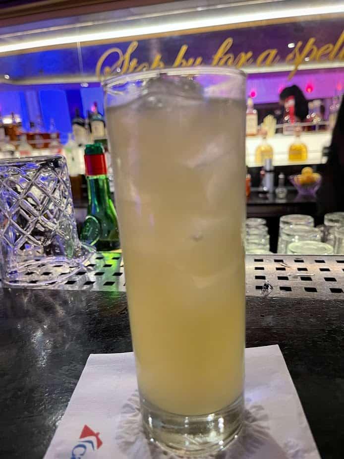 mardi gras trip report fortune teller's bar