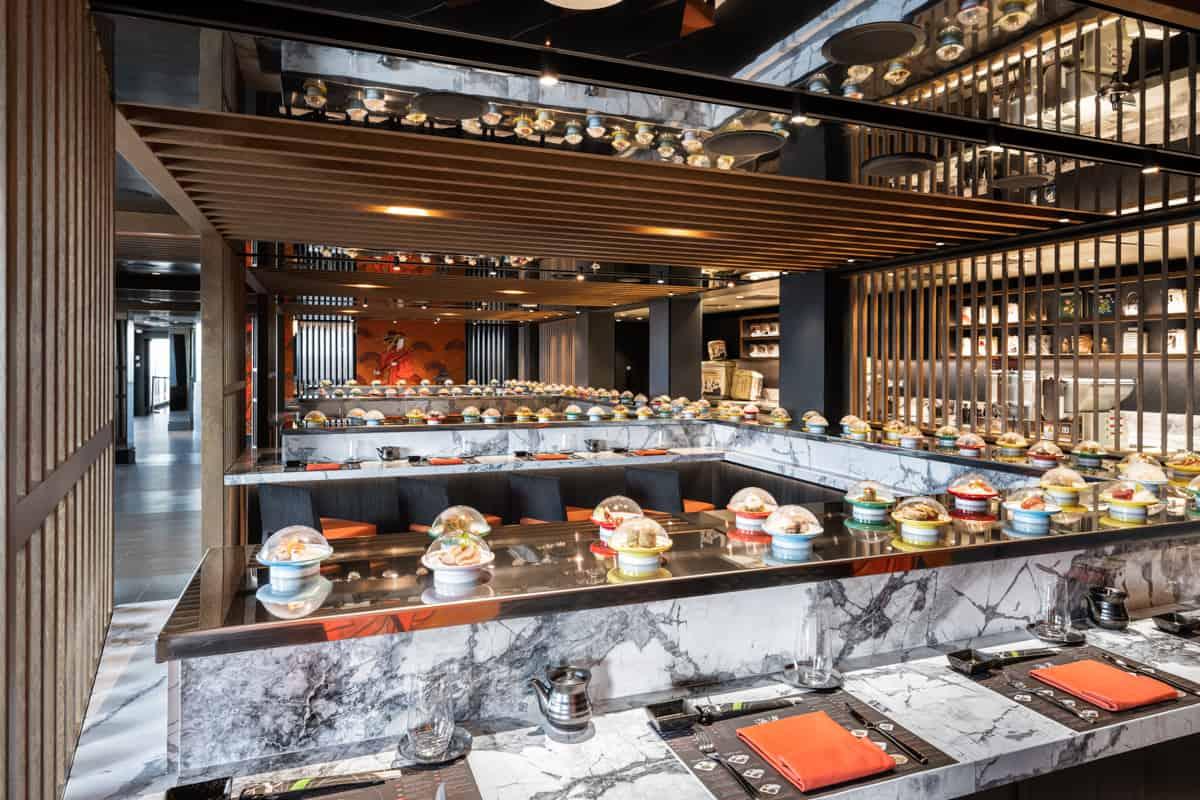 kaito sushi bar msc seashore