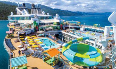 oasis of the seas docked at labadee haiti
