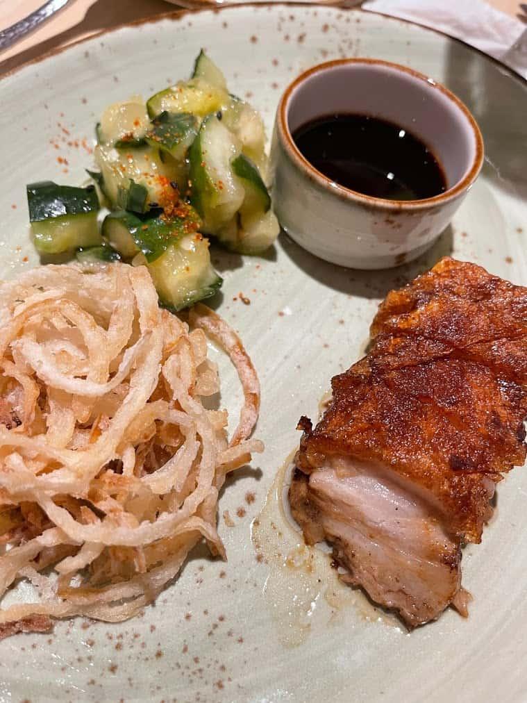 Mardi Gras Trip Report Chibang pork belly