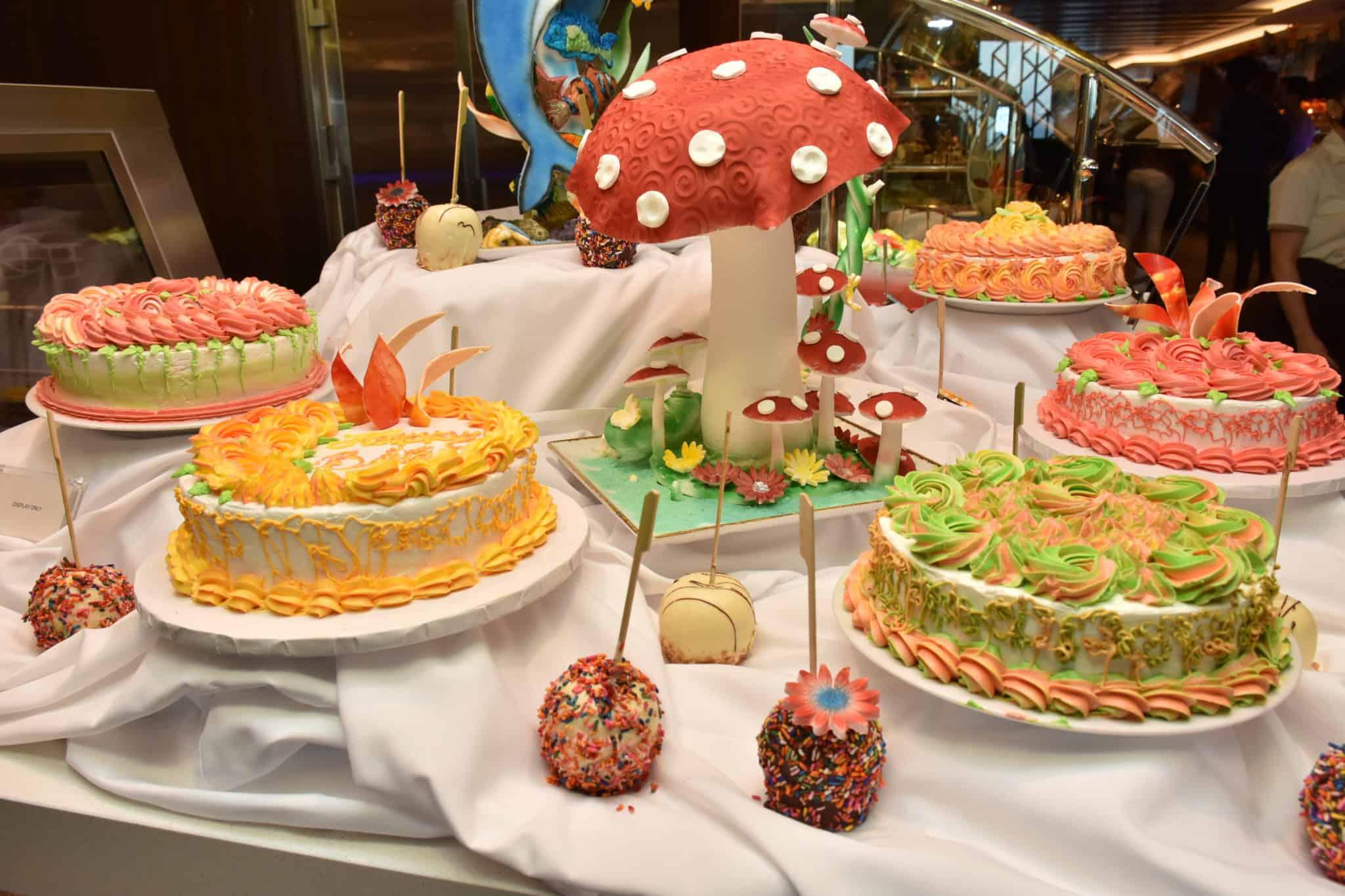 norwegian encore celebration buffet
