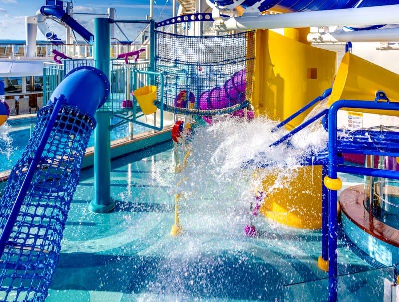 norwegian bliss aqua water park