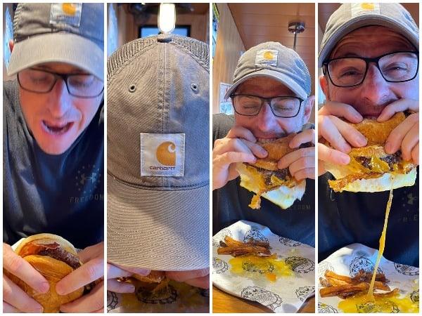 mardi gras trip report guy's burger joint breakfast
