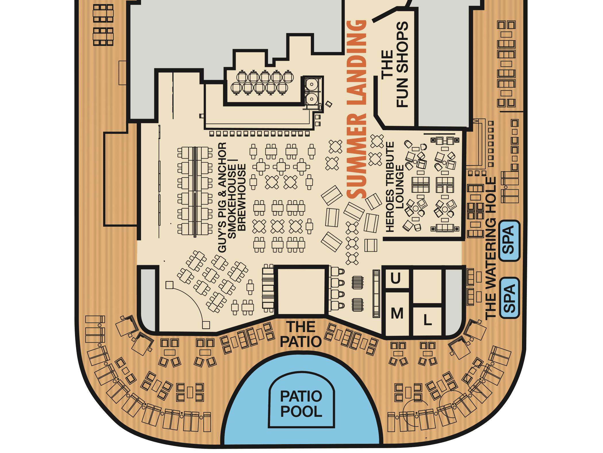 mardi gras summer landing deck plan