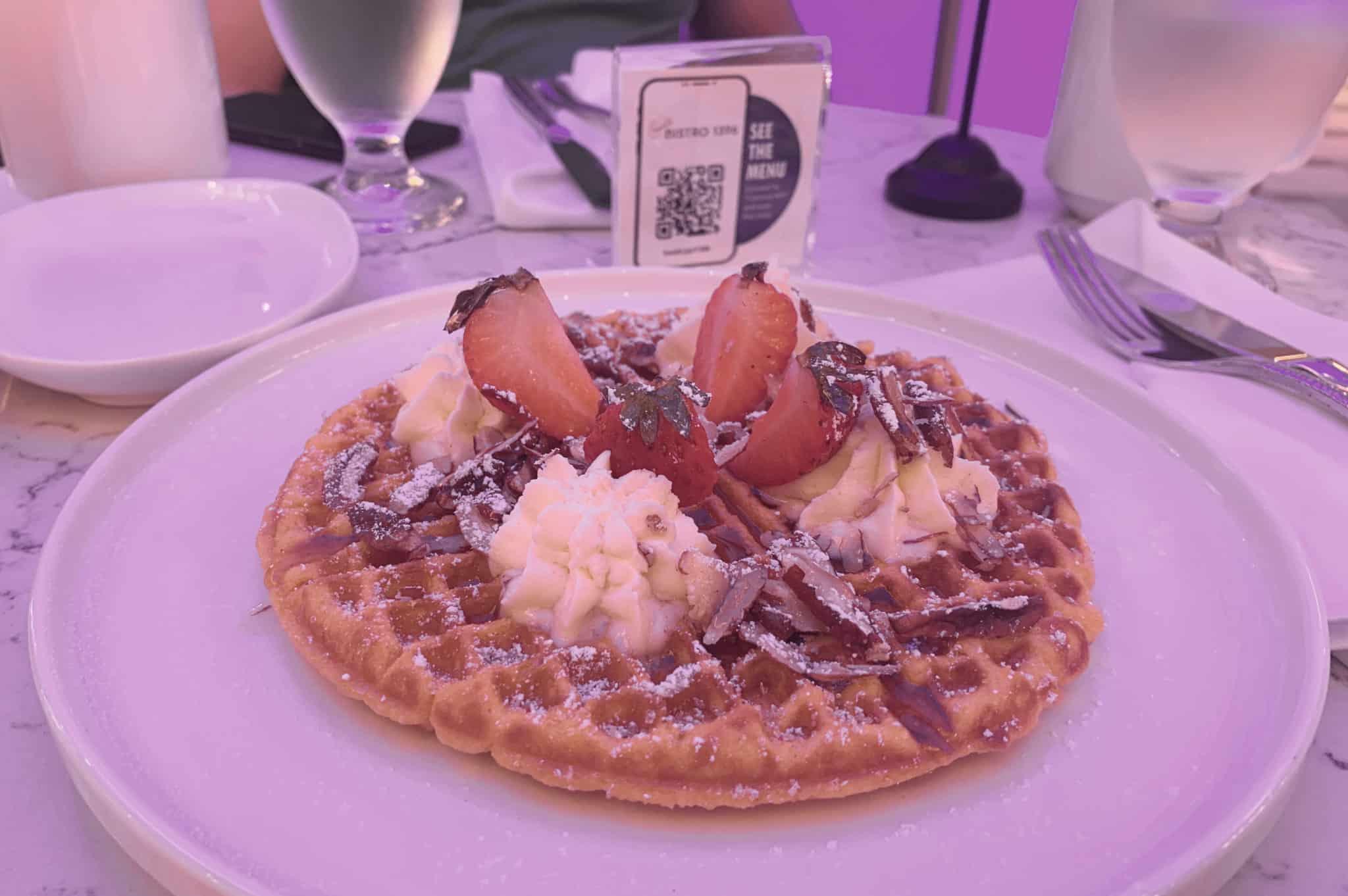 emeril's bistro waffle