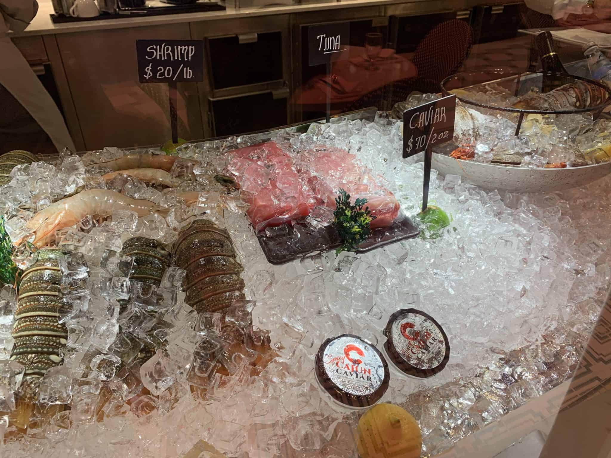 seafood emeril's bistro