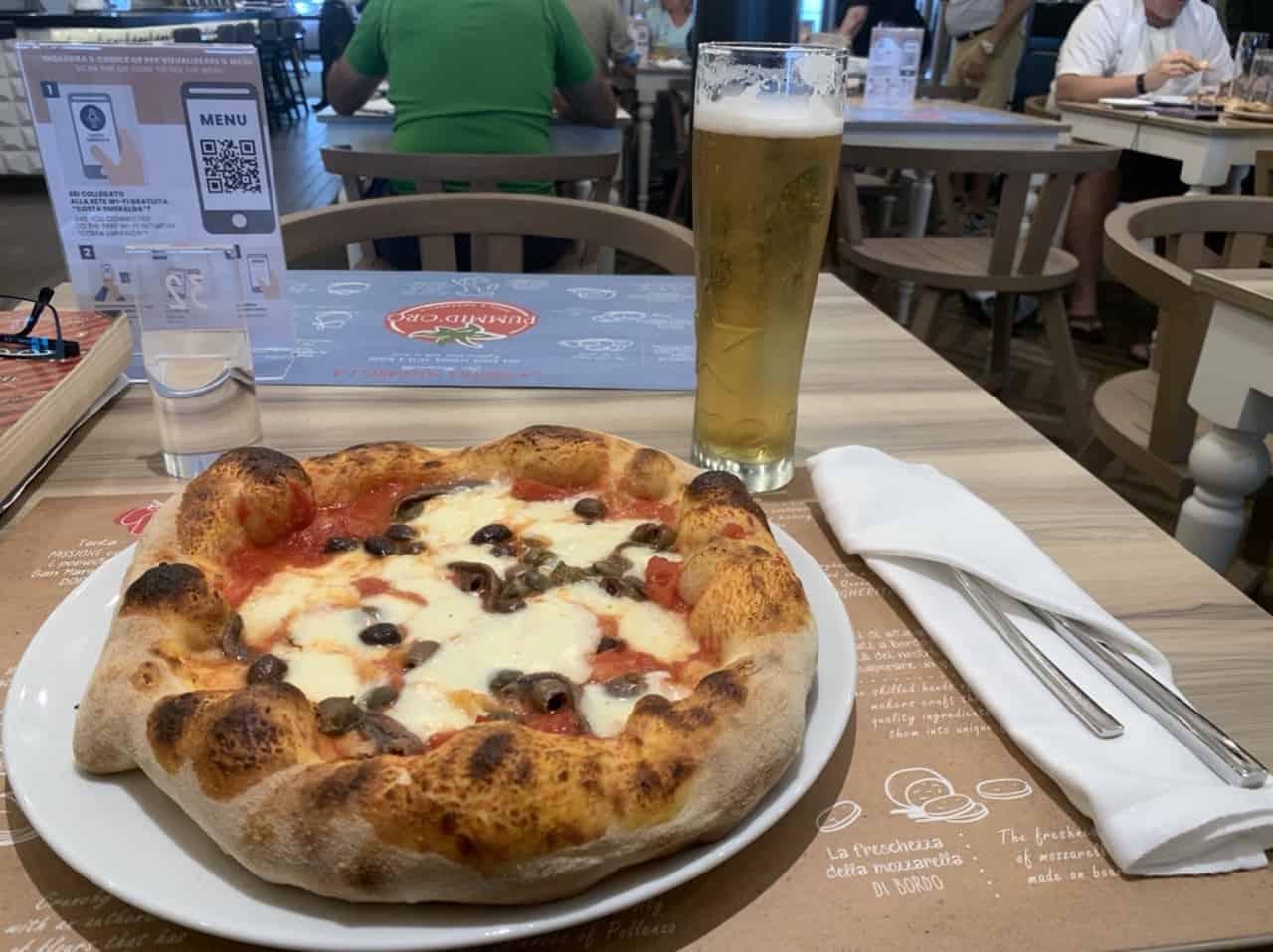 Pizza from Pummid'oro costa smeralda
