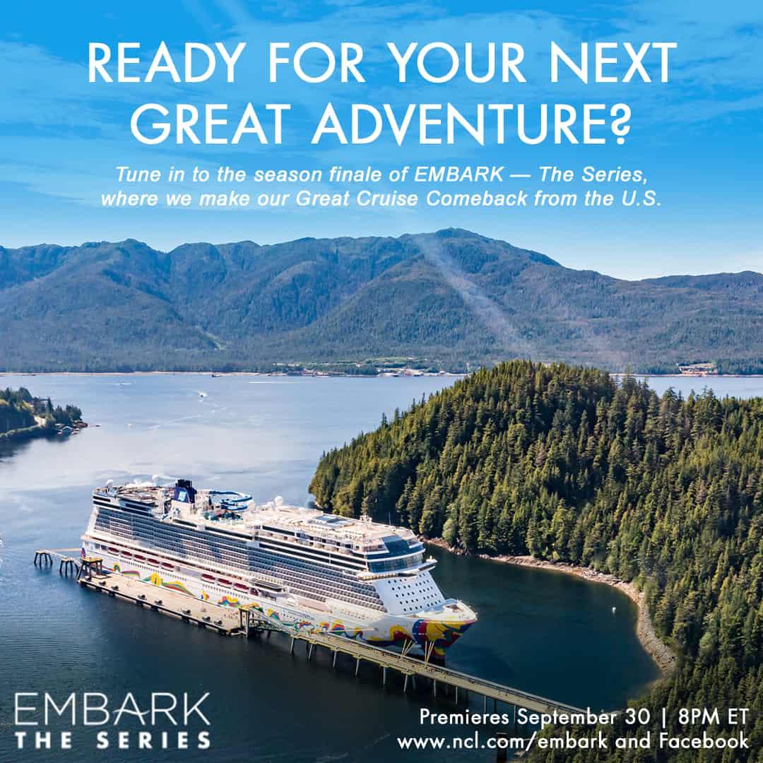 norwegian cruise line embark image
