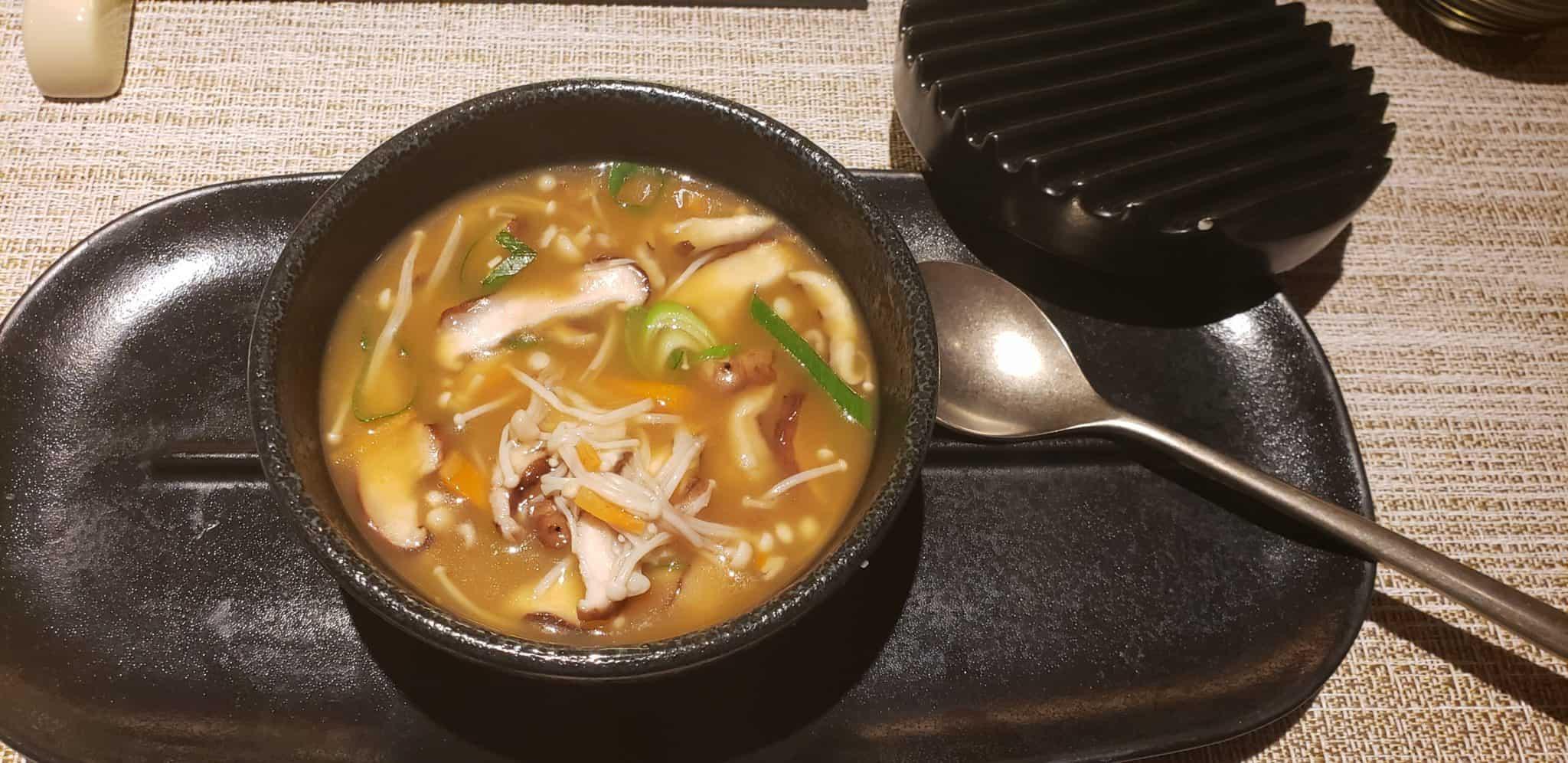Kaiseki lobster soup