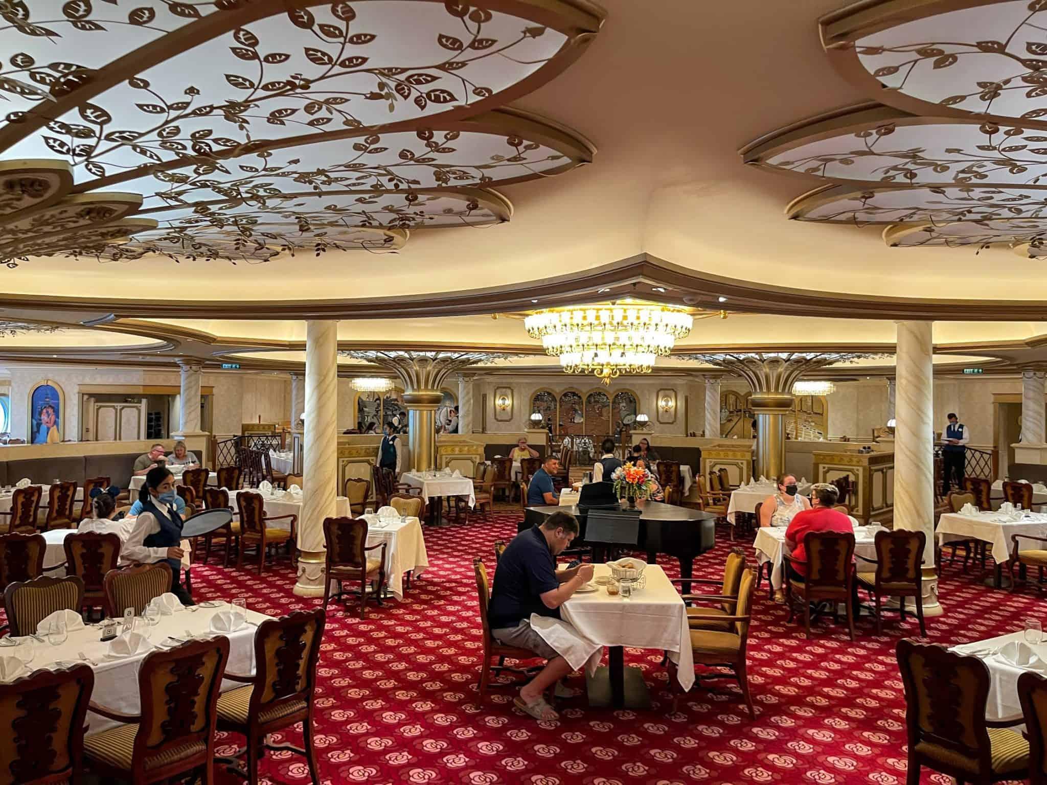 royal court dining room disney fantasy