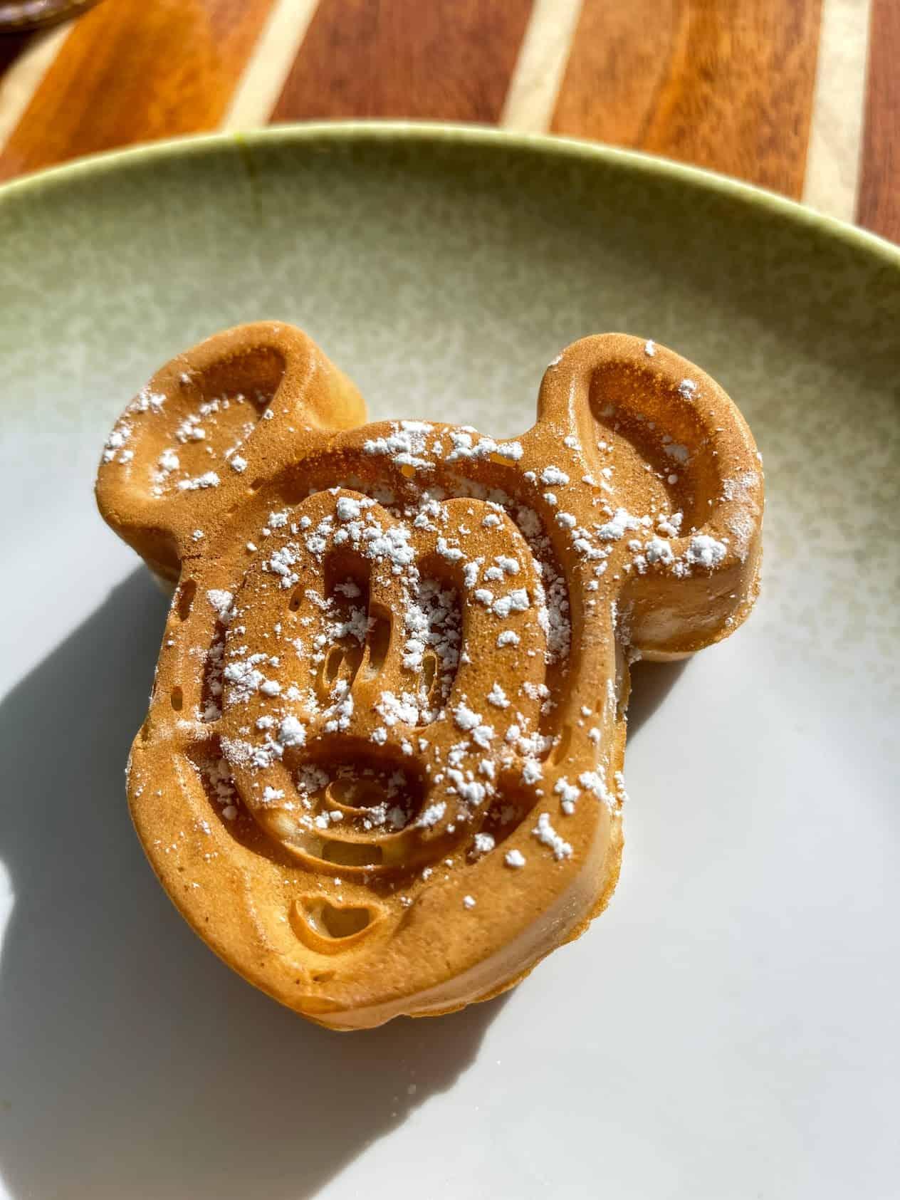 mickey waffle disney fantasy