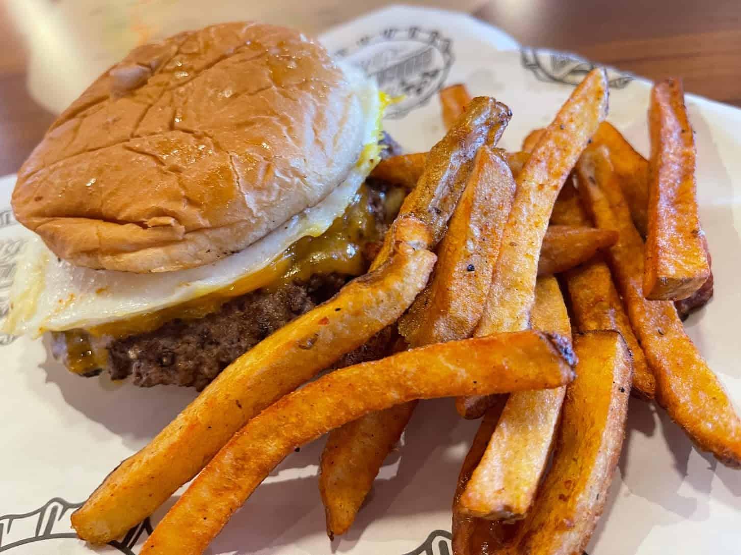 Guy Fieri breakfast burger