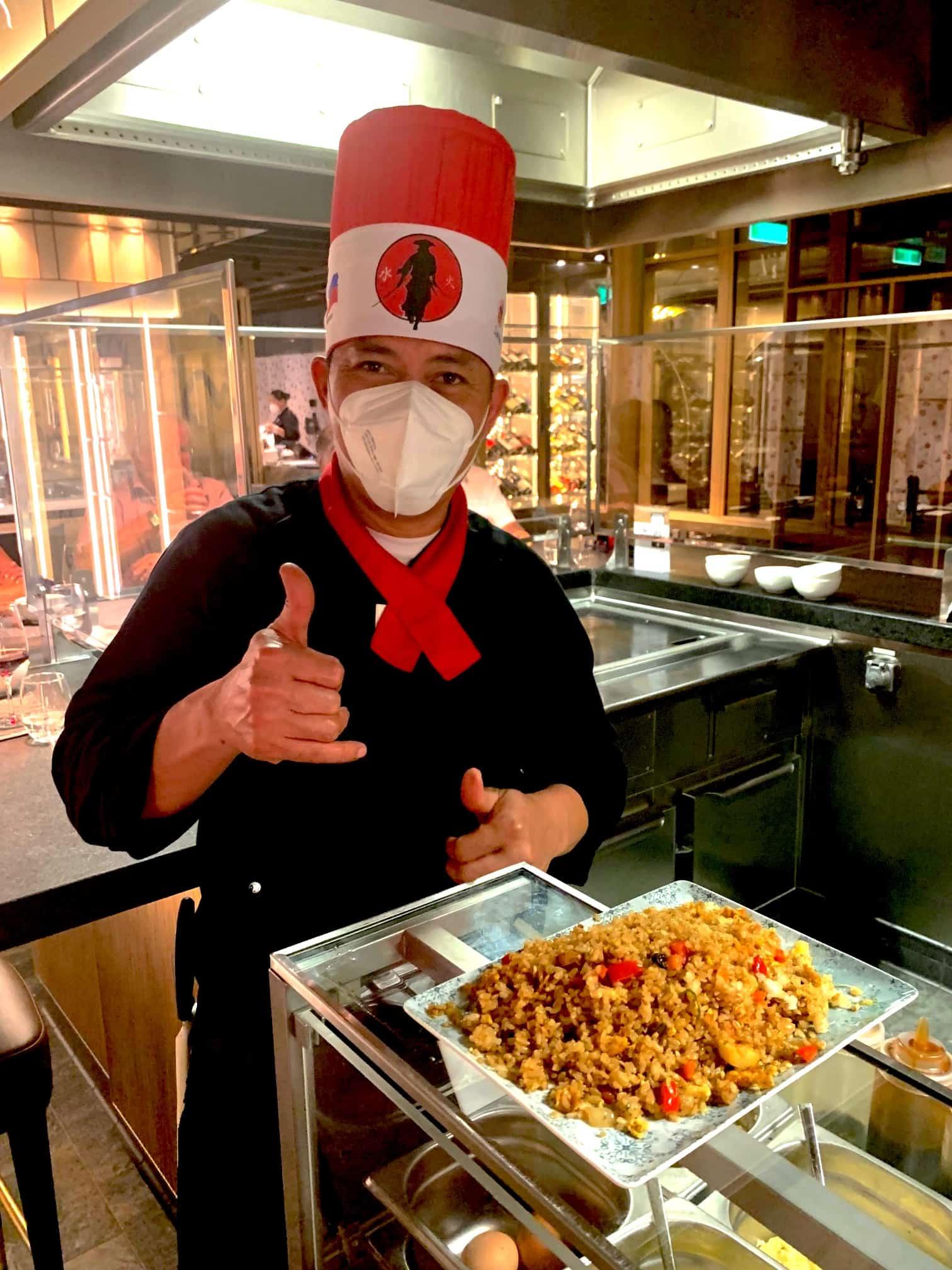 Chef at Teppanyaki