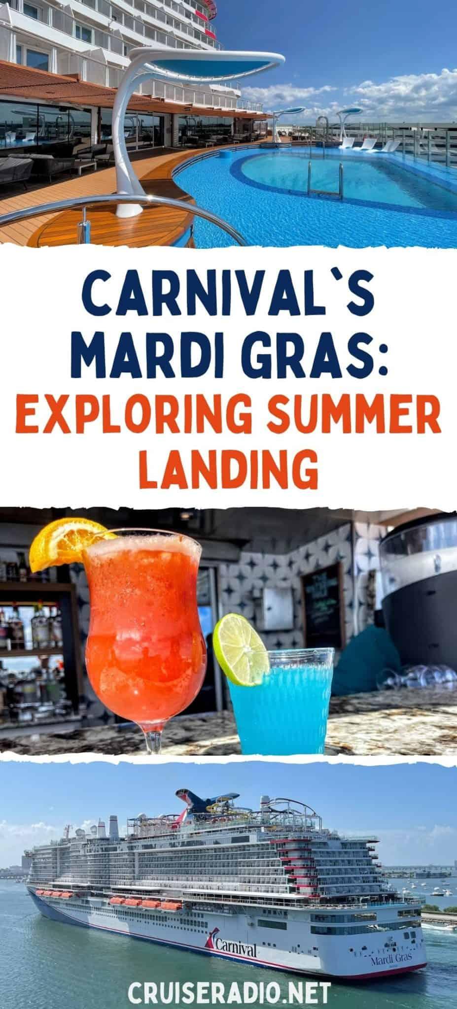 carnival mardi gras: exploring summer landing