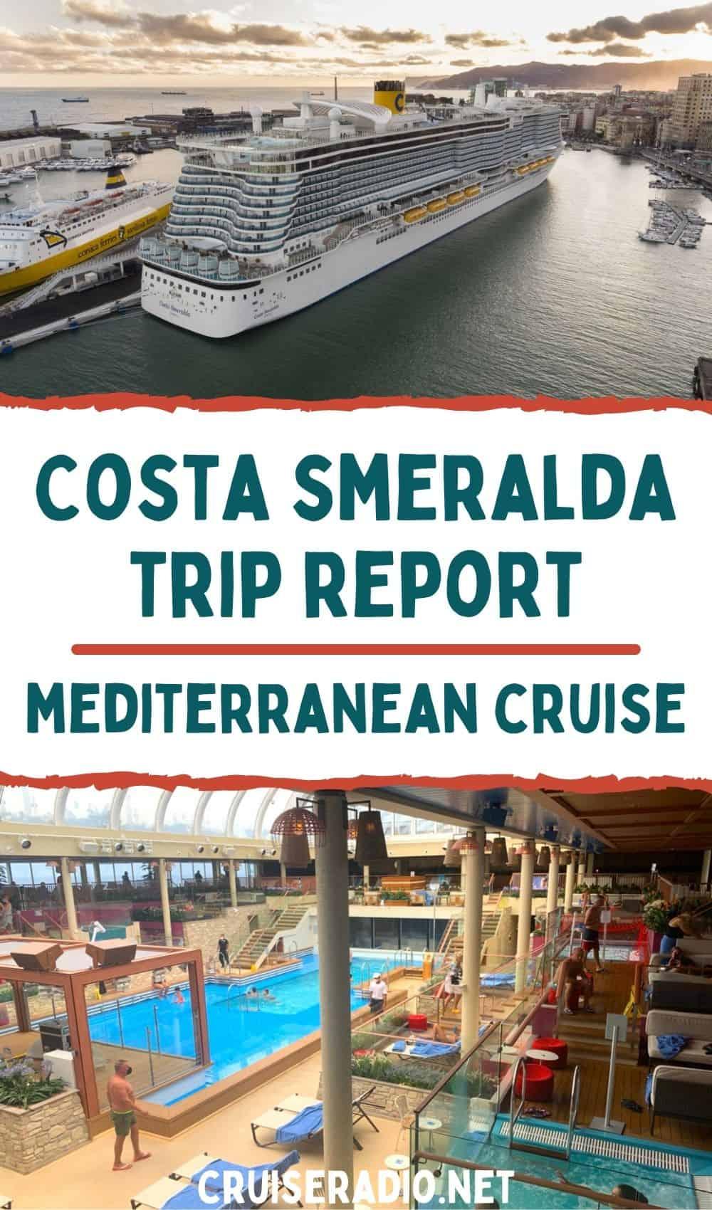 costa smeralda trip report