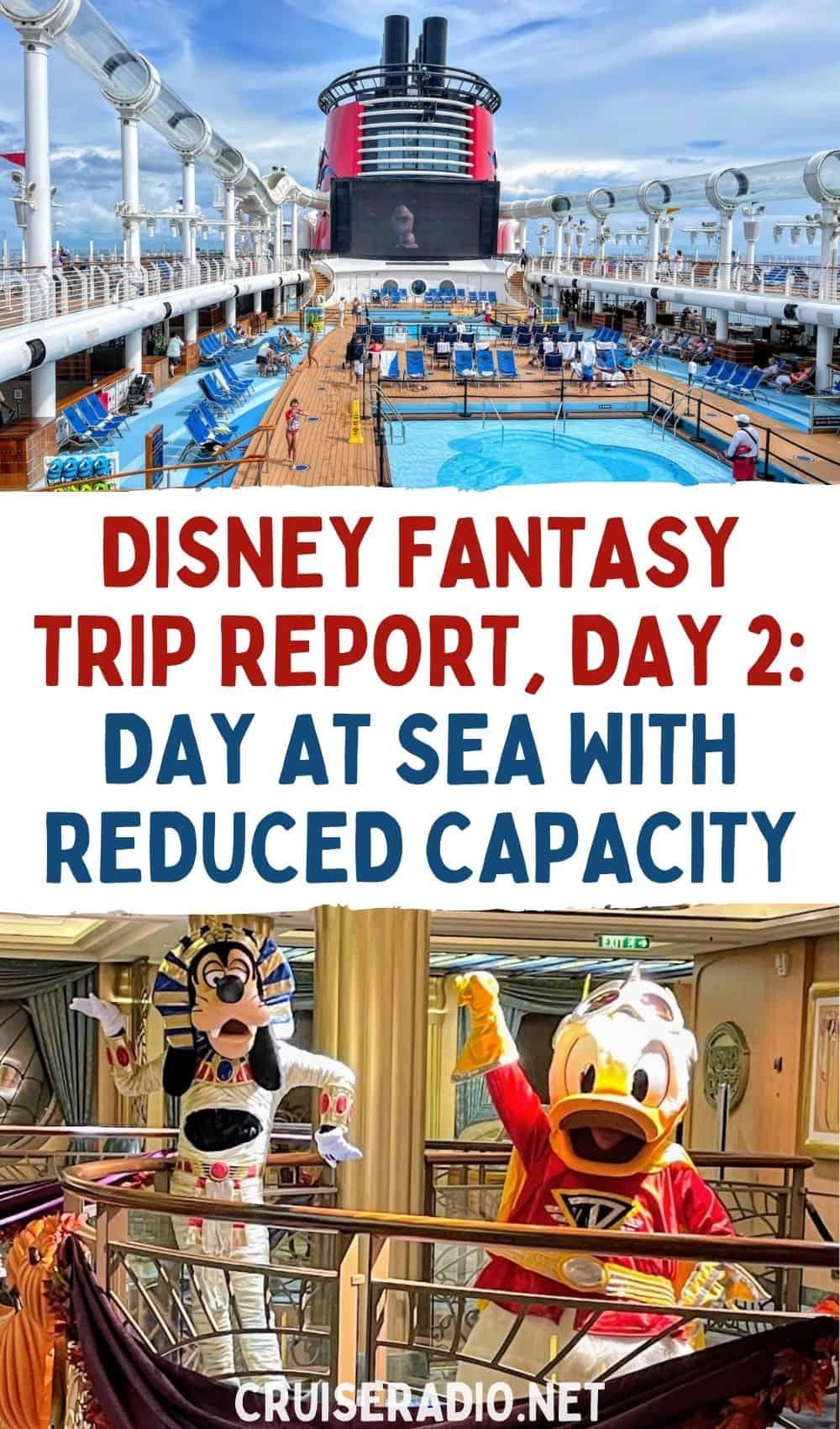 disney fantasy trip report day 2