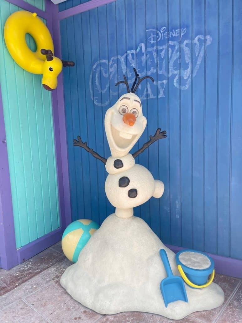 disney fantasy castaway cay snowman frozen slushies