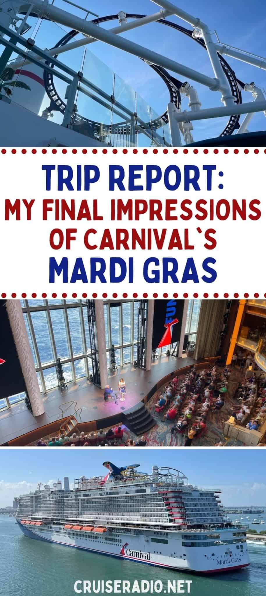 trip report: my final impressions of carnival's mardi gras