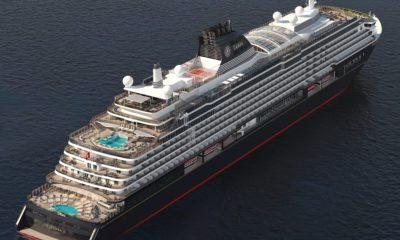 explora II luxury cruise ship rendering