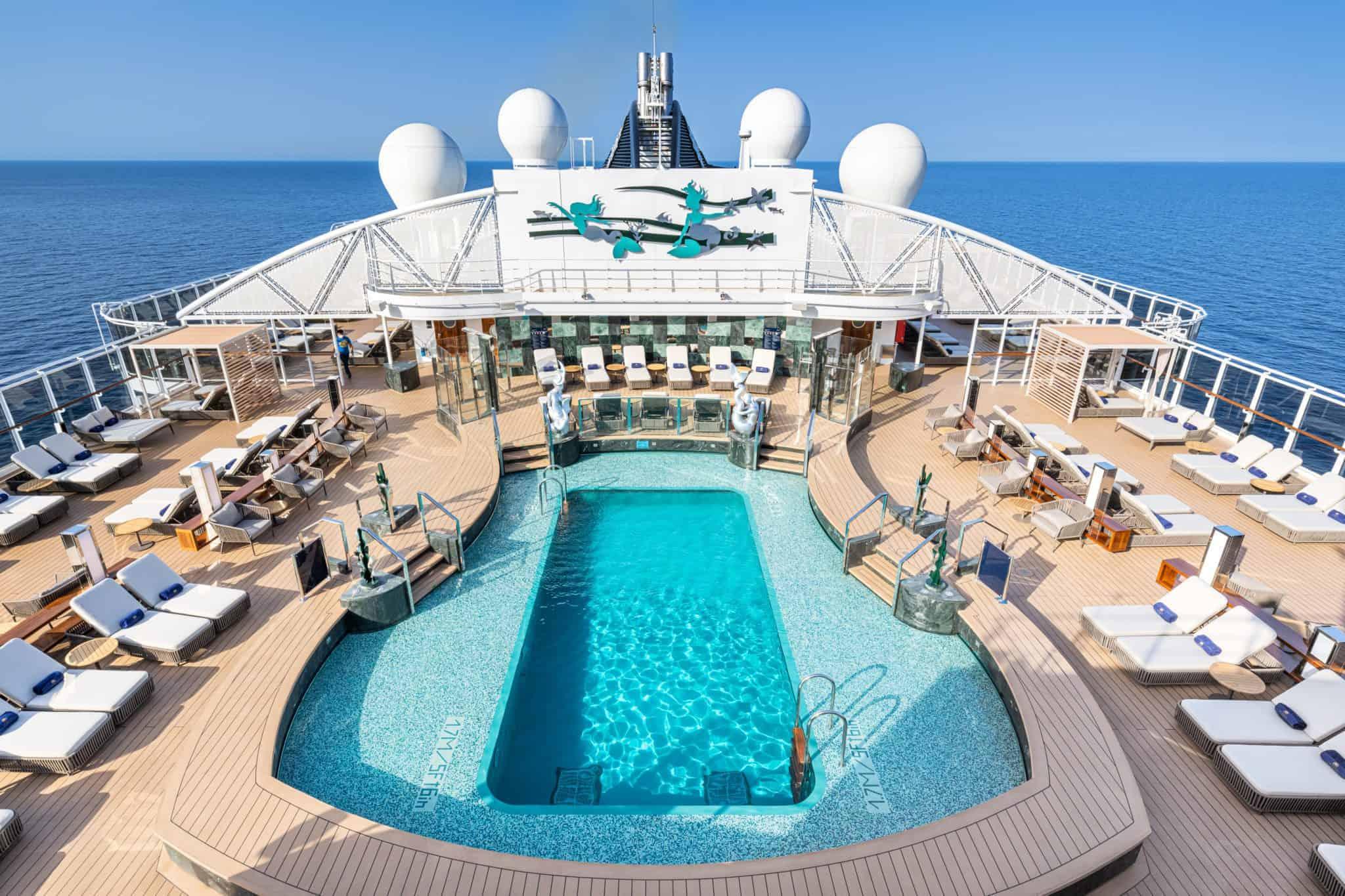 msc seashore yacht club sundeck pool