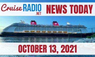 cruise radio news today october 13 2021