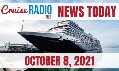 cruise radio news today october 8 2021