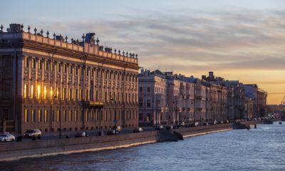 st. petersburg russia Palace Embankment